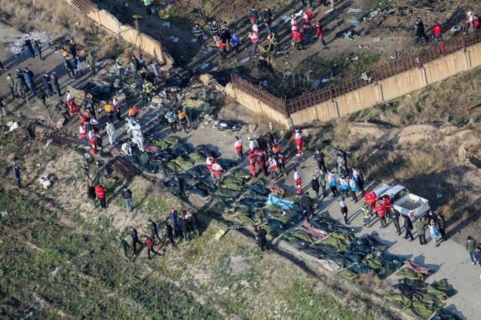 Irã admite que derrubou avião ucraniano com 176 a bordo por engano