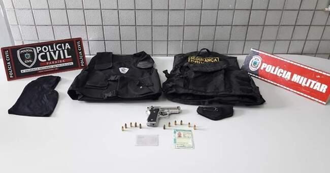Acusado de tentativa de homicídio no RN é preso com arma de fogo em Belém