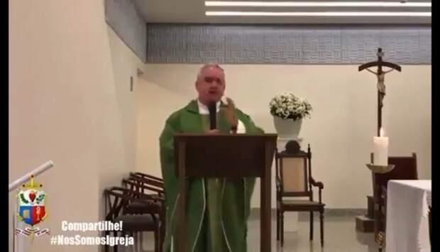 """Padre sobre voto em Bolsonaro: """"elegeu bandido para a Presidência"""""""